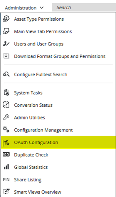 menu_oauth_configuration